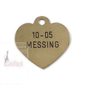 Hundetegn messing 10-05-31