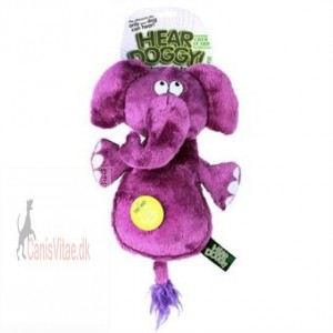 HEAR DOGGY w. chewguard elefant 30cm-31