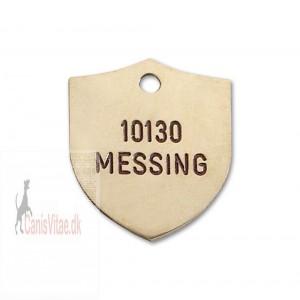 Hundetegn Messing-25x32mm 10130-38