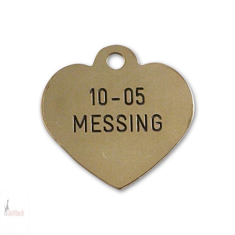 Hundetegn - messing - 10-05