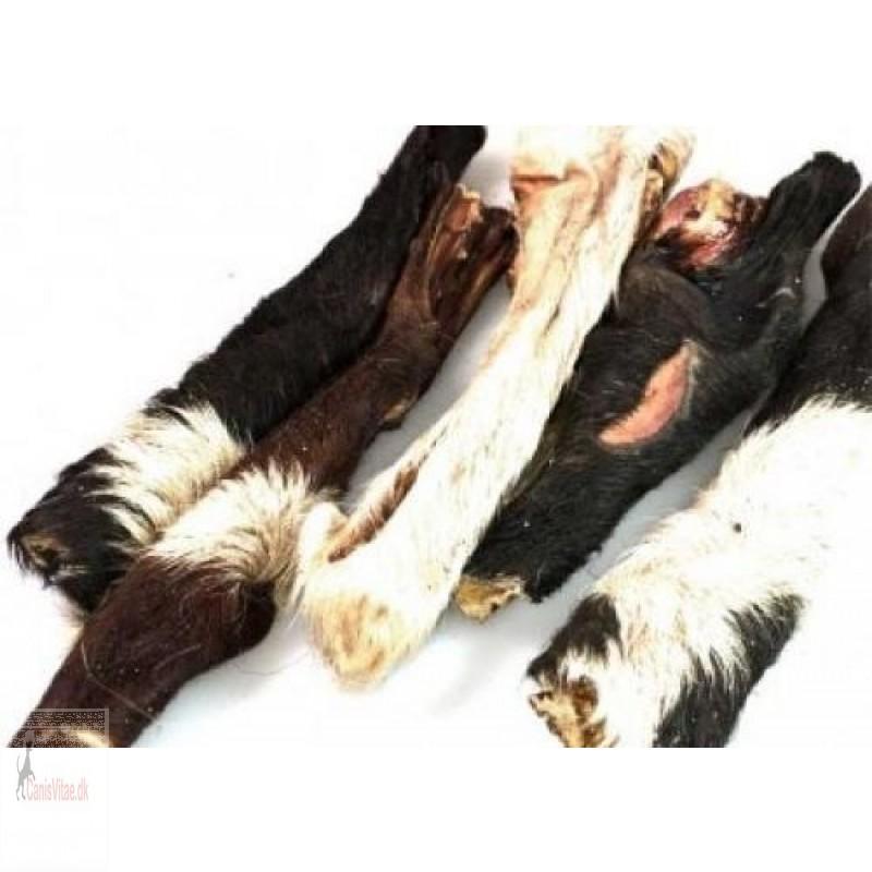 Oksehovedhud med pels, 250 gram