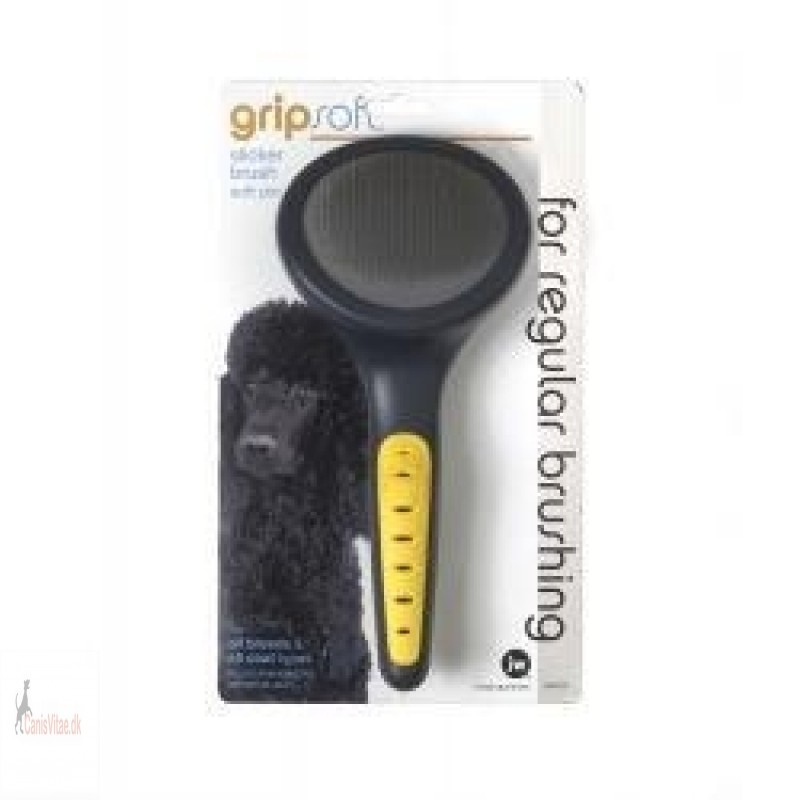 JW Gripsoft slicker brush soft pin