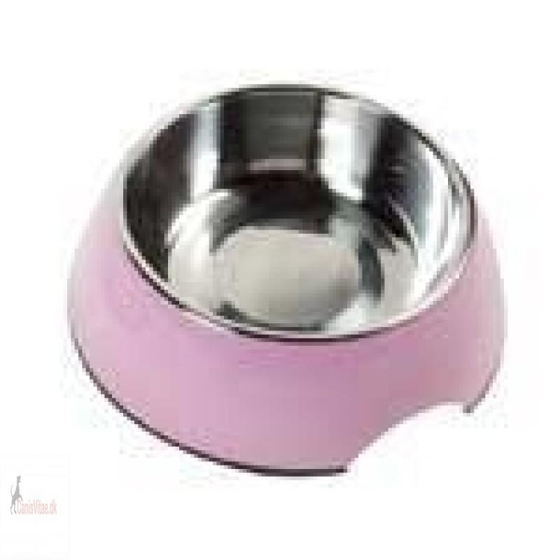 Royal skål rund, pink - fra