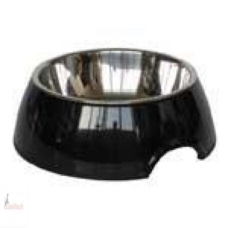 Royal skål rund, sort - fra