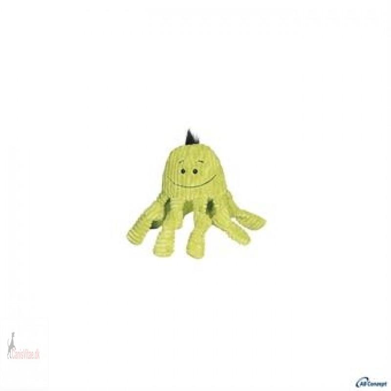 Hugglehound Octopus-Lime Knotties - 28cm