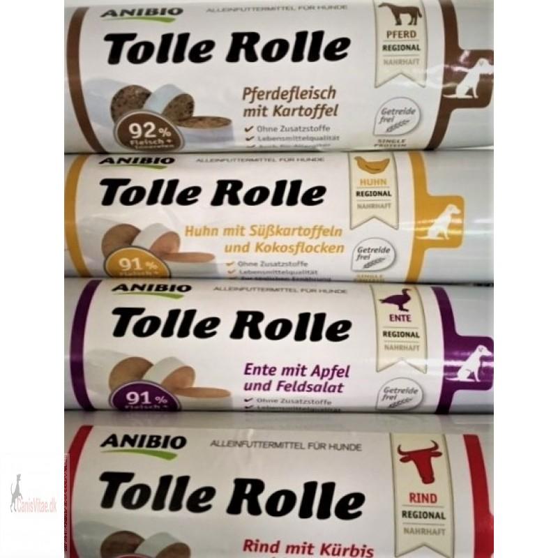 AniBio Tolle rolle, skærepølse, 400 gram - vælg variant