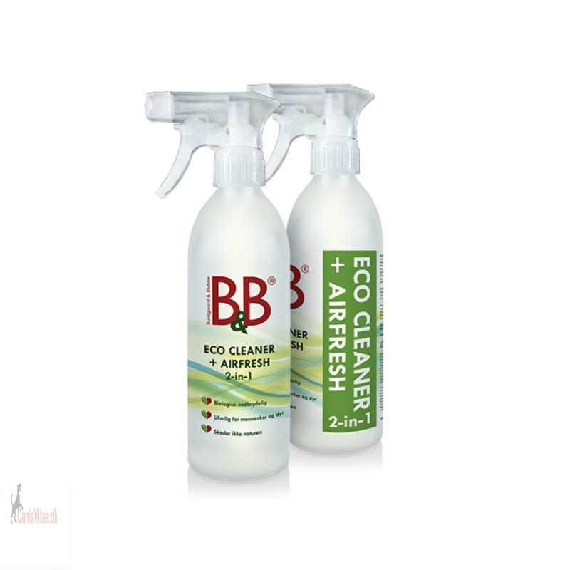 B&B Eco cleaner + Airfreshs 2i1 - 500ml