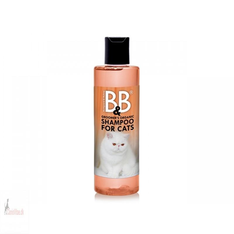 B&B katteshanpoo med mandel og morgenfrue - 250ml