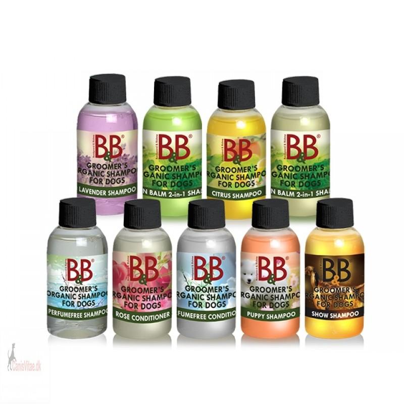 B&B shampoo&Condition prøver - 50ml