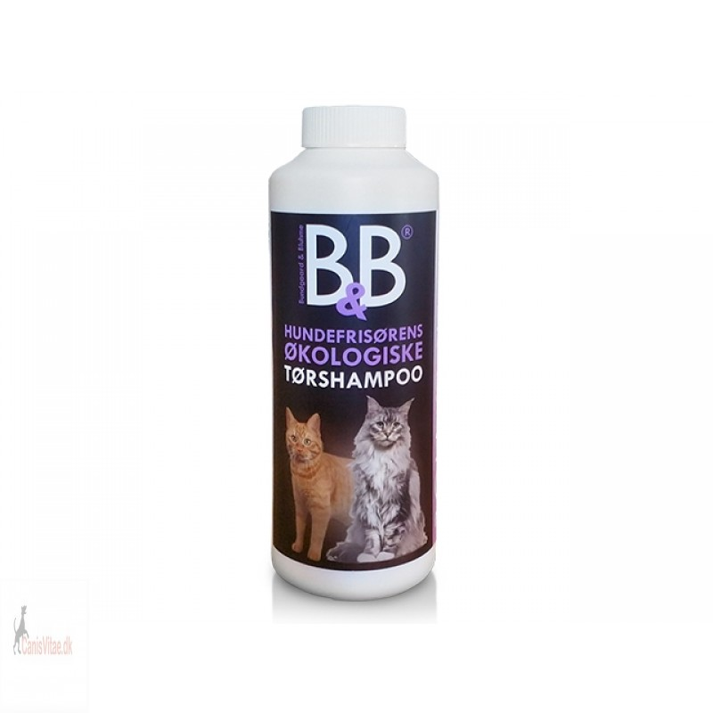 B&B Tørshampoo med viol (kat)