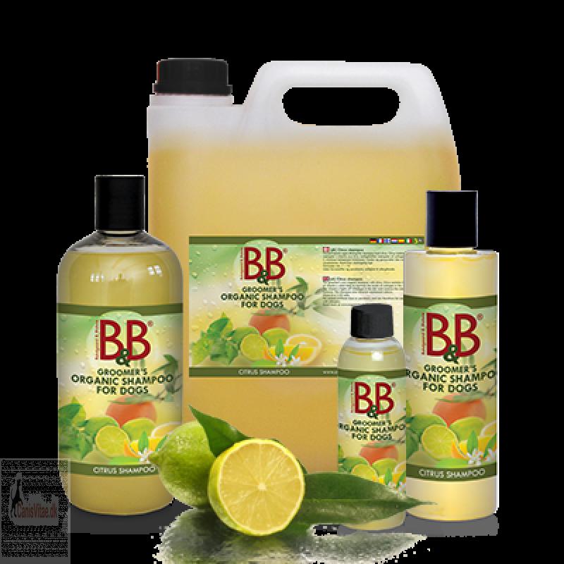 B&B shampoo med Citrus - fra