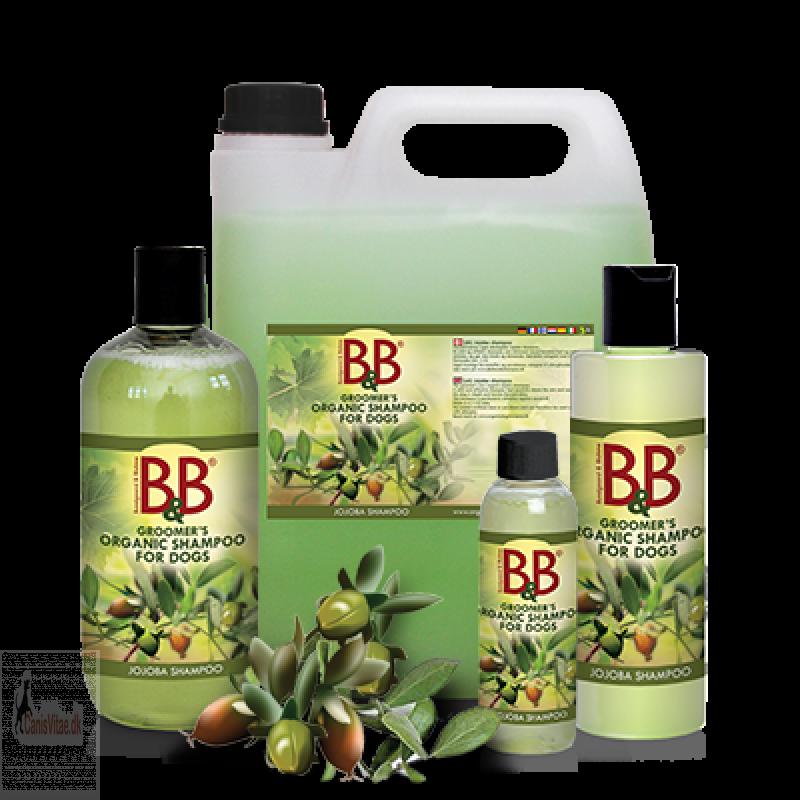 B&B Shampoo med Jojoba - fra