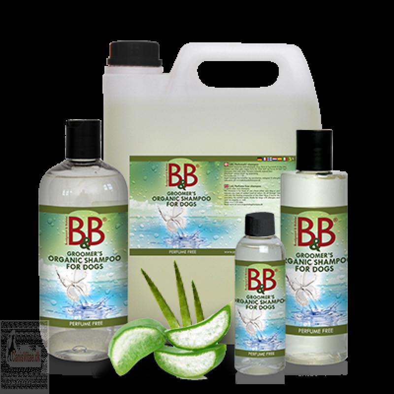 B&B shampoo, parfume fri - fra