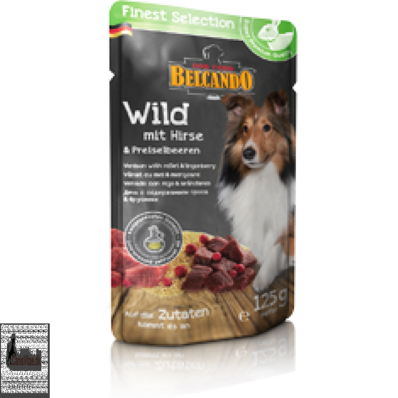 Belcando vildt med hirse og tyttebær, 300 gram