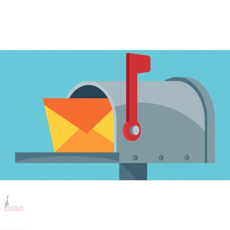Fragt Tyskland - brev (PostNord)
