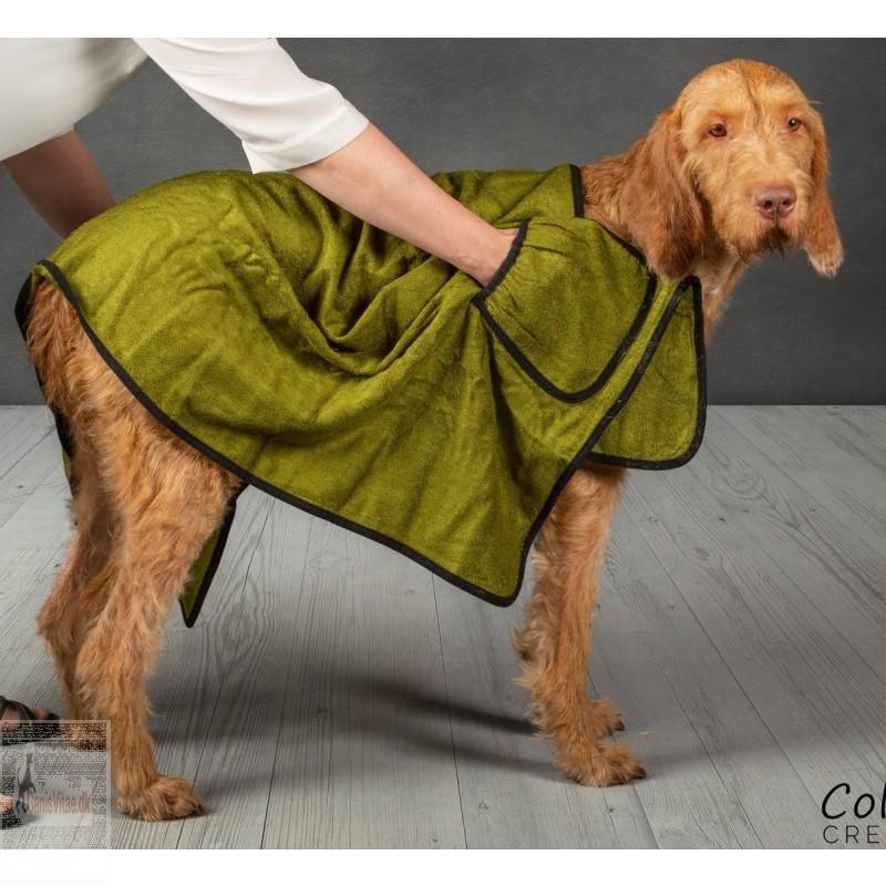 Collared Creatures bambus hundehåndklæde, 140 x 70 cm - vælg farve