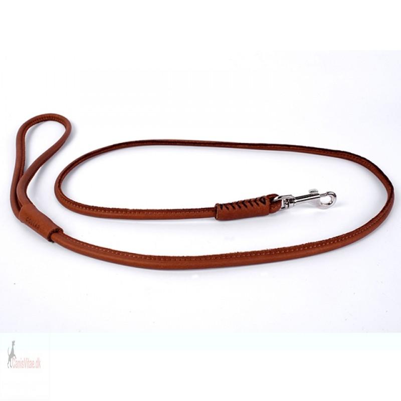 Collar soft rundsyet, 122cm76mm - brun