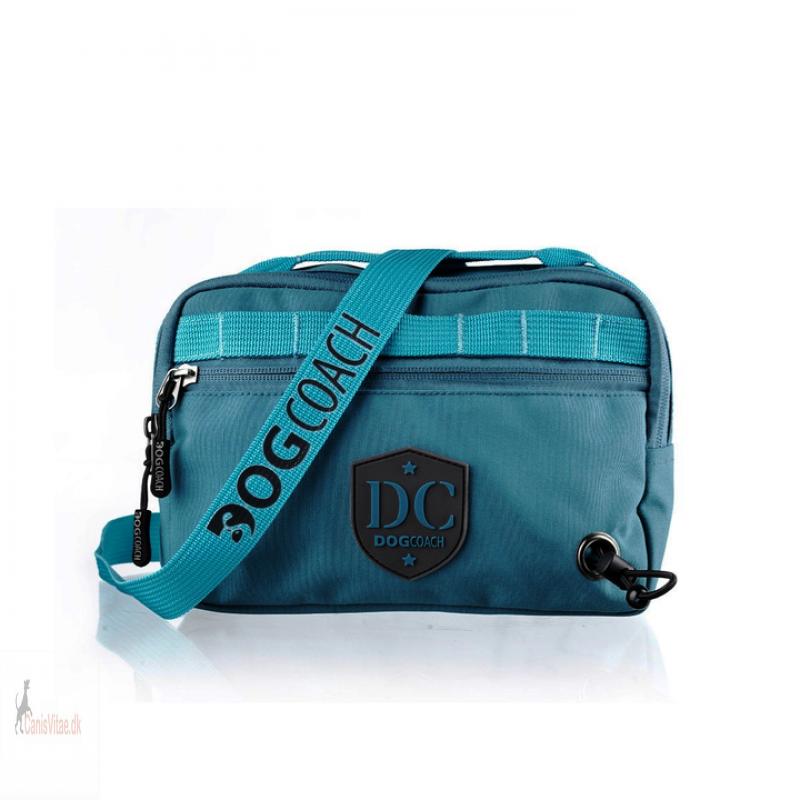 DogCoach bæltetaske, Petroleumsblå
