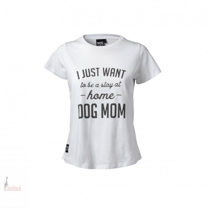 DogCoach Statement t-shirt, hvid - Vælg størrelse