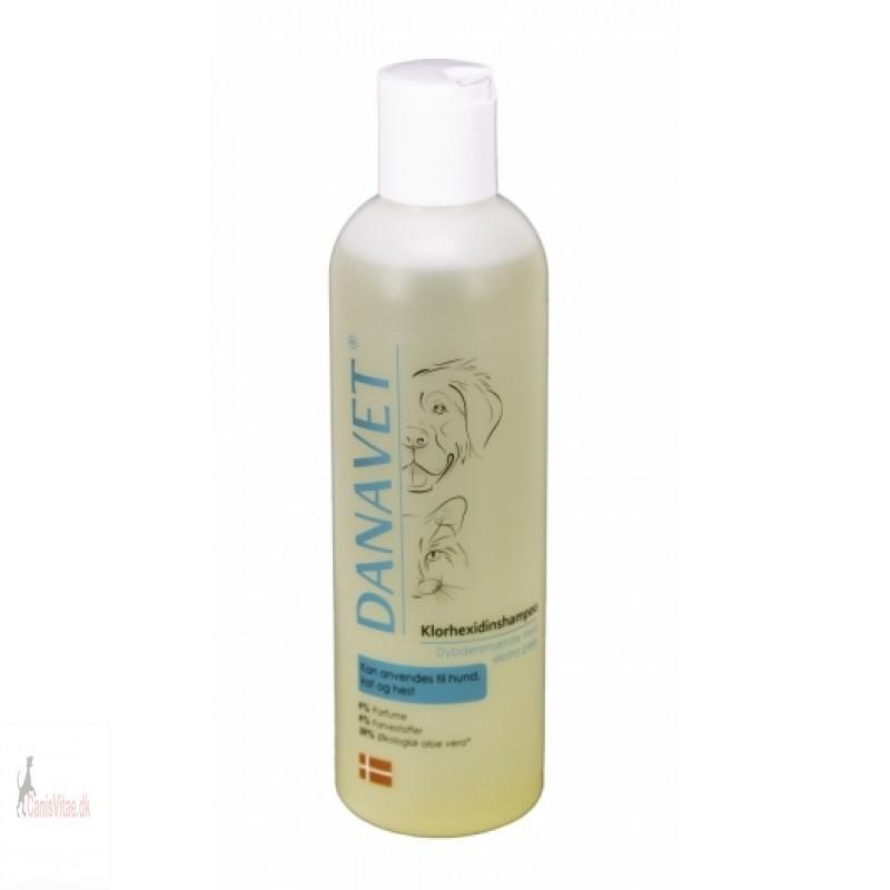 Danavet - Shampoo med klorhexidin