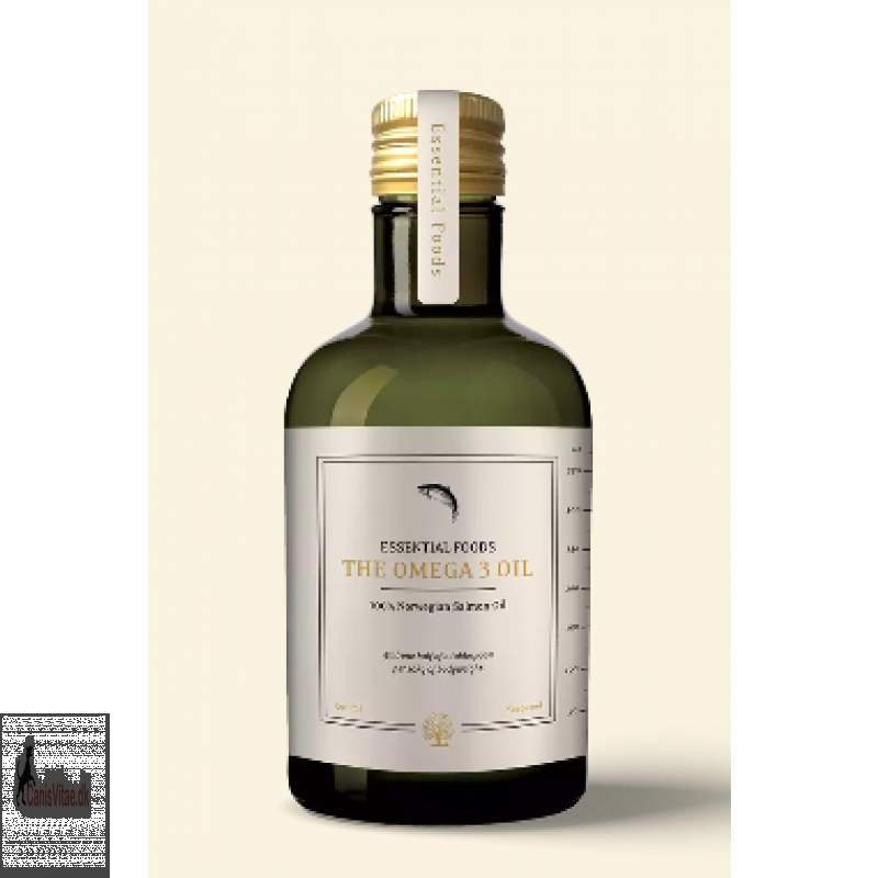 Essentials lakseolie, 500 ml - The omega 3 oil