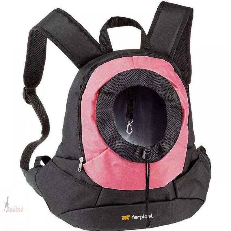 Kangoo Hunde Rygsæk pink - large