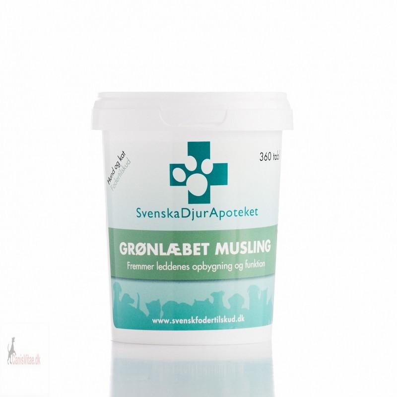 Grønlæbet musling, 360 tabletter