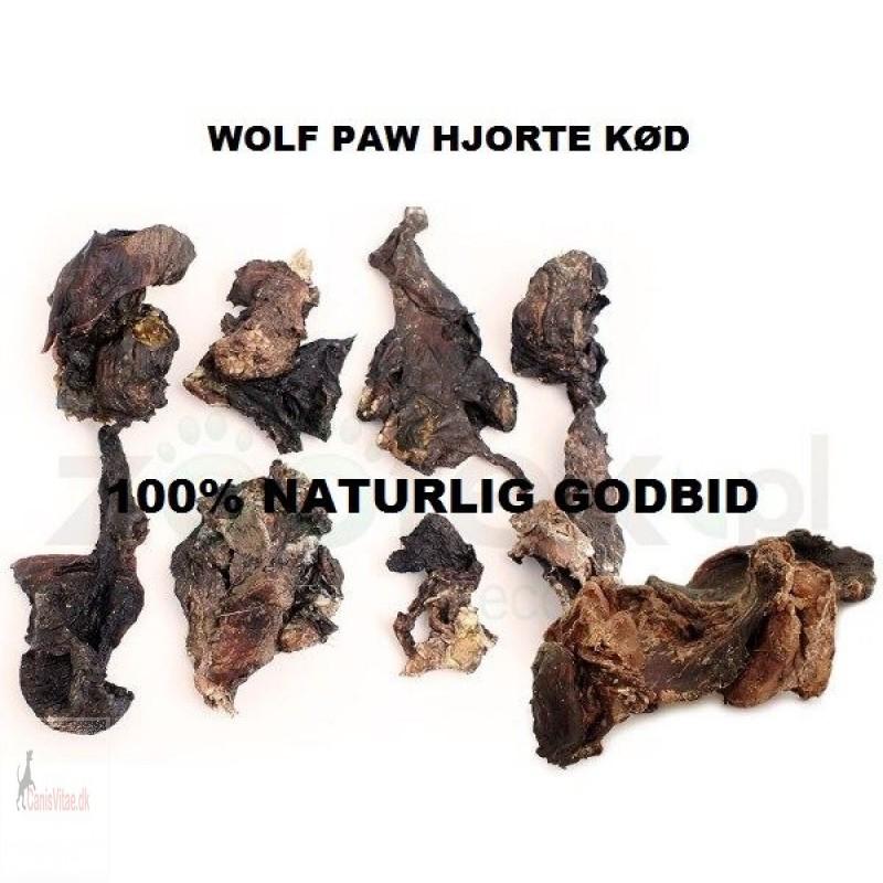 Woolf Paw hjortekød, 100 gram