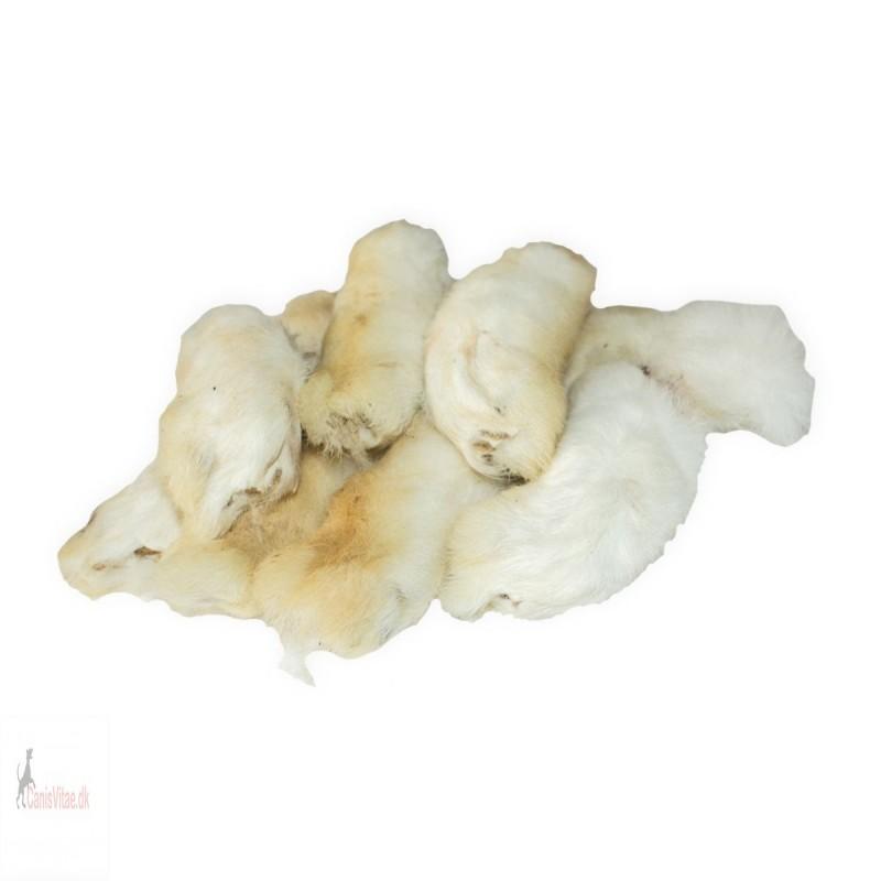 Kaninpoter med pels, 200 gram