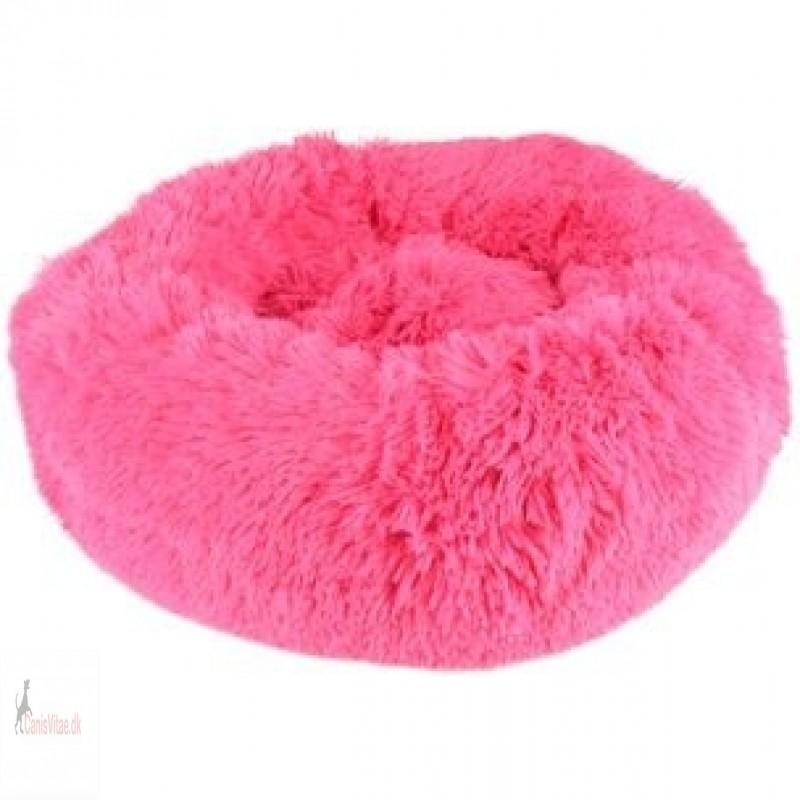 Fluffy hundepude, design krems, 50cm vælg farve-02