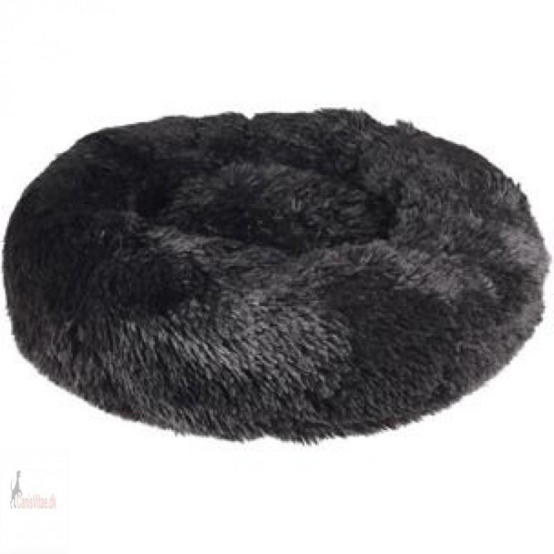 Fluffy hundepude, design krems, 50cm - vælg farve