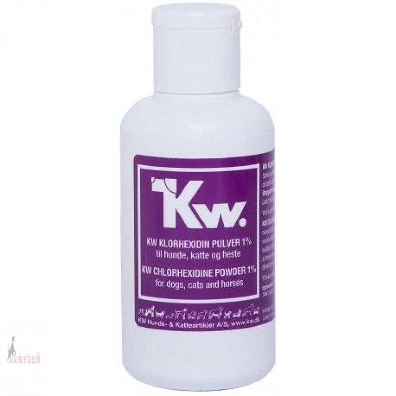 KW klorhexidinpulver, 1%, 50gram