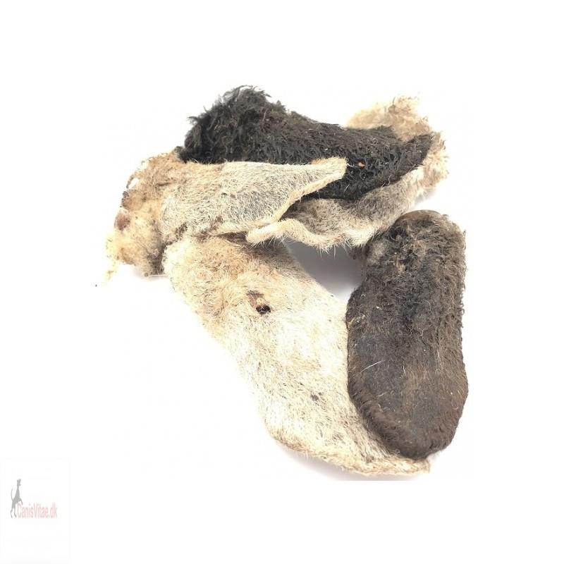 lammeører med pels, 1 kg