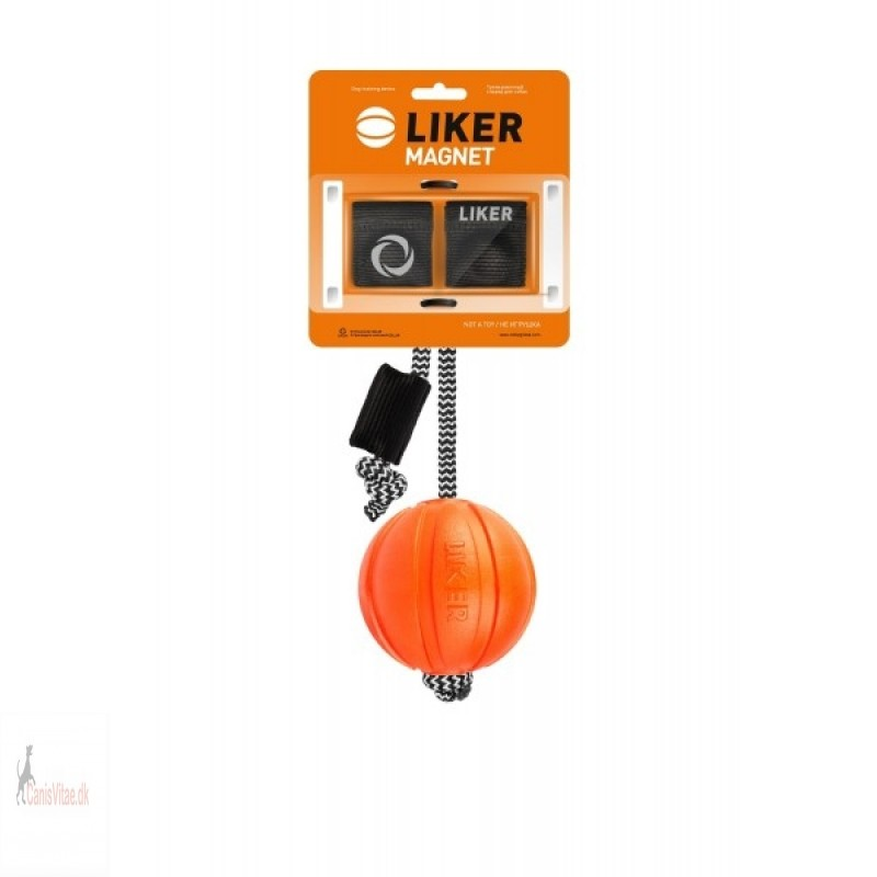 Liker bold m. snor & magnet, 7 cm