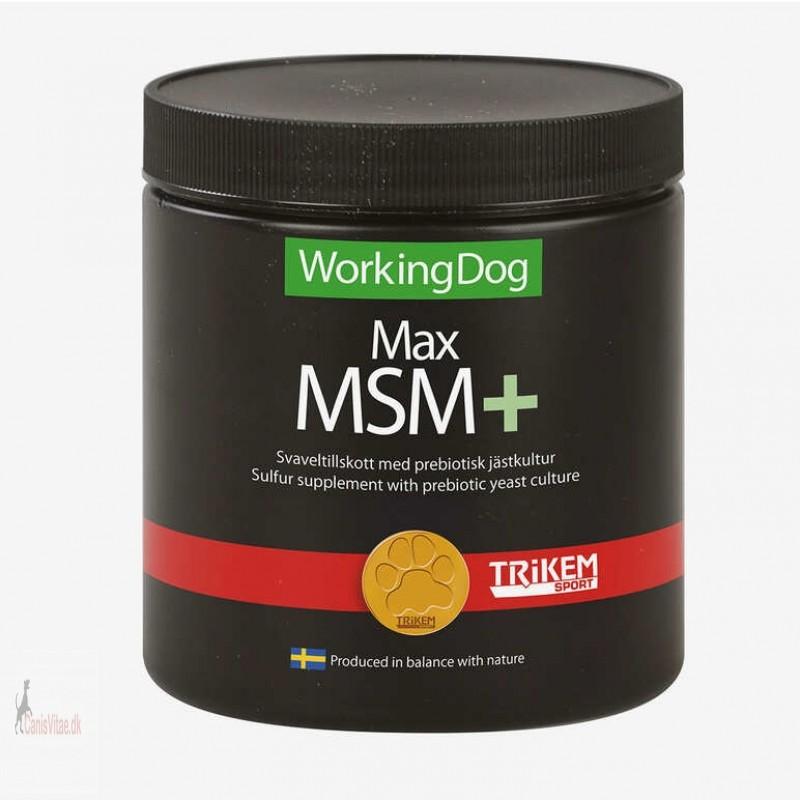 Working Dog Max MSM Plus, 450 gram