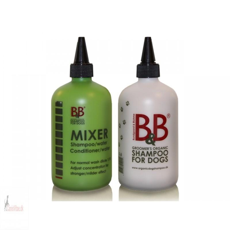 B&B mixingflasker, hvid el. grøn