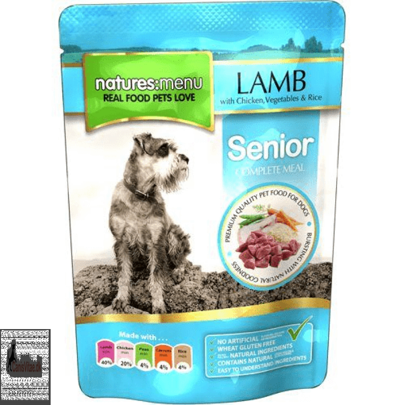 Natures menu Senior, Lamb - 300 gram