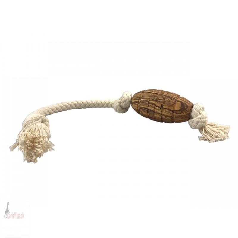 Olivi Rugby med reb, ca 36 cm