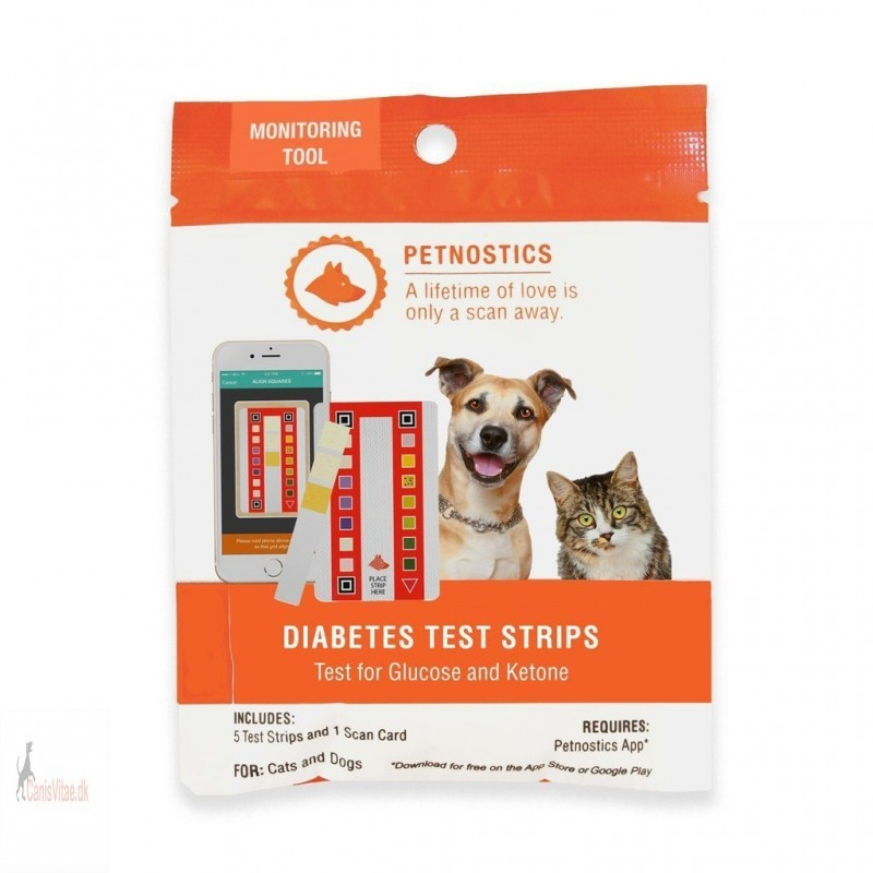 Diabetes test strimmel - Petnostic