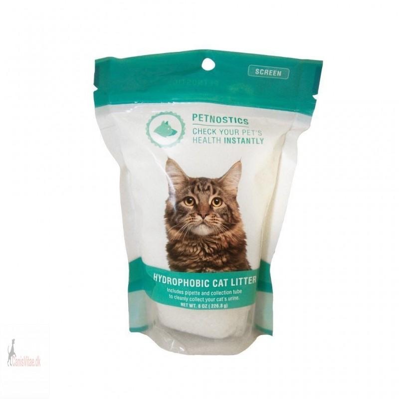 Vandskyende kattegrus til urinprøvetagning - Petnostics