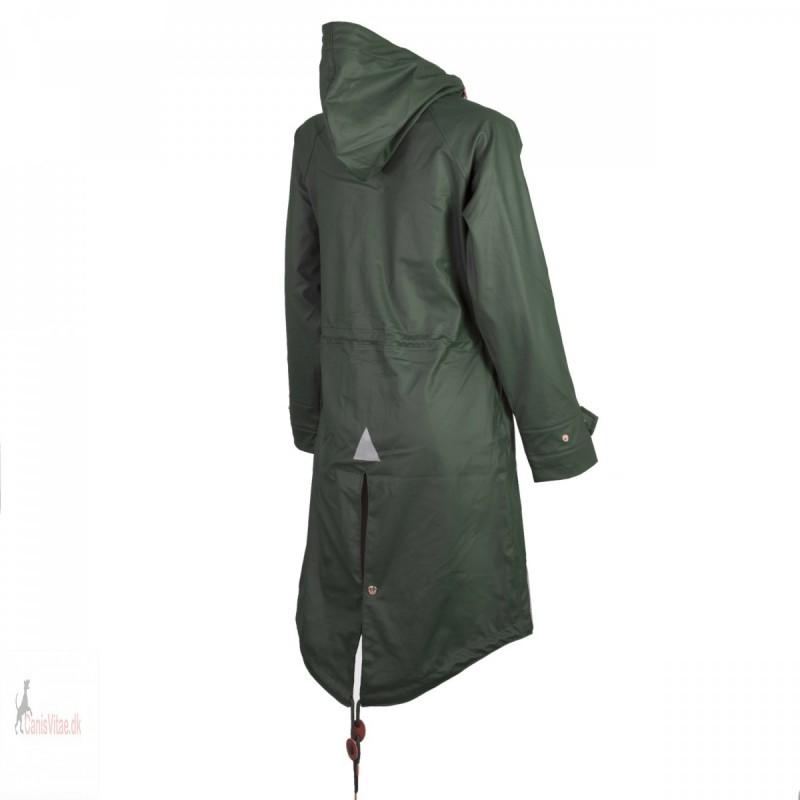 Regnjakke Jacson Pippi, grøn