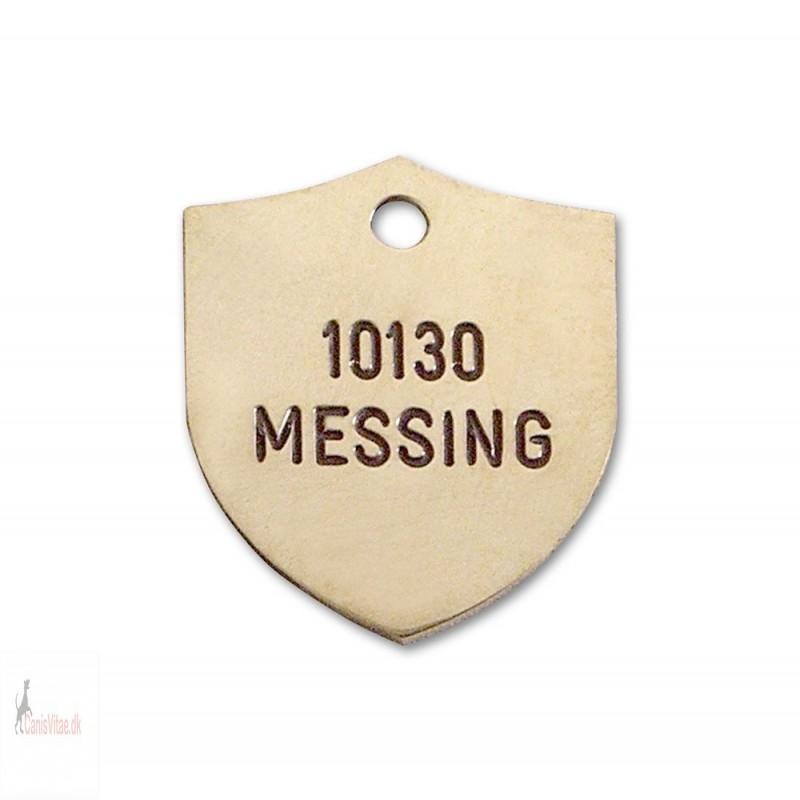 Hundetegn - Messing -25x32mm - 10130