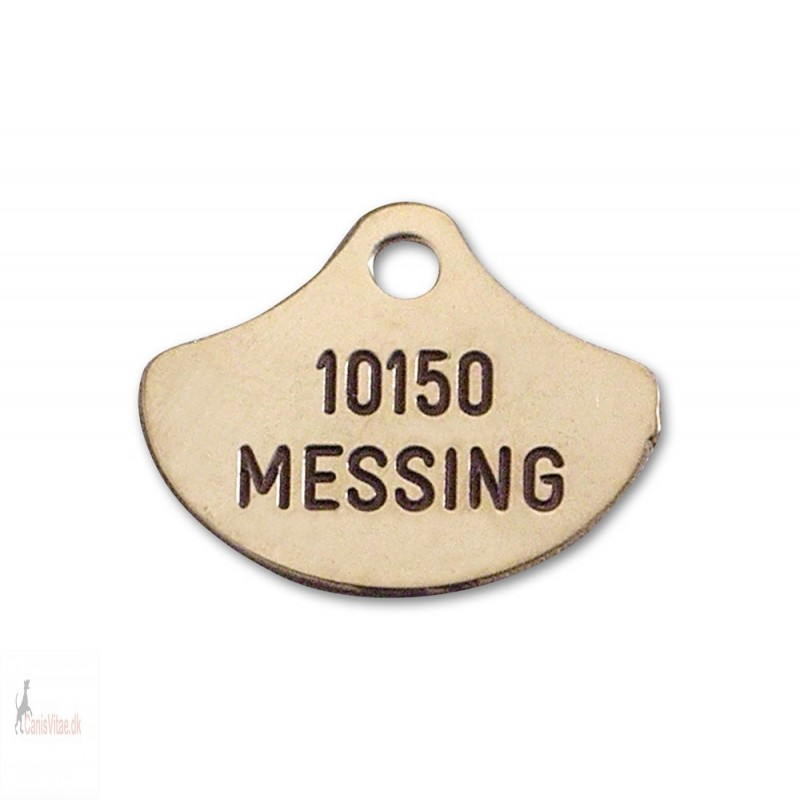 Hundetegn - Messing -26x21mm - 10150