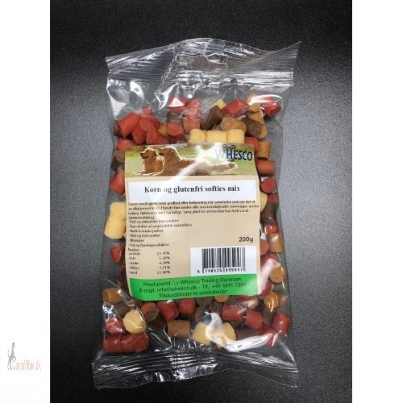 Korn- og glutenfri Softies MIX, 200gram