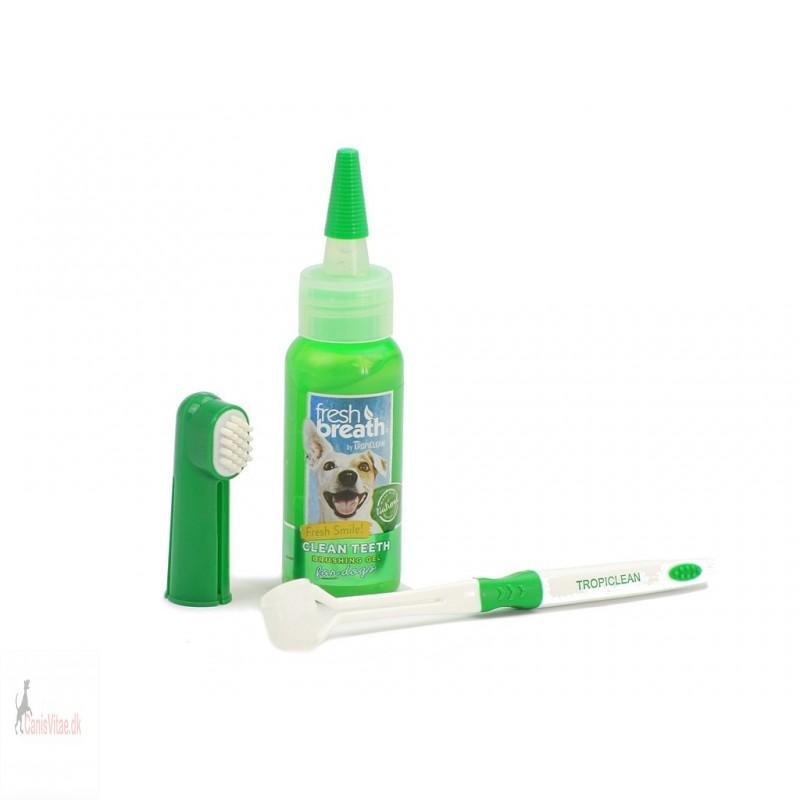Oral Care kit tandplesæt små hunde-01