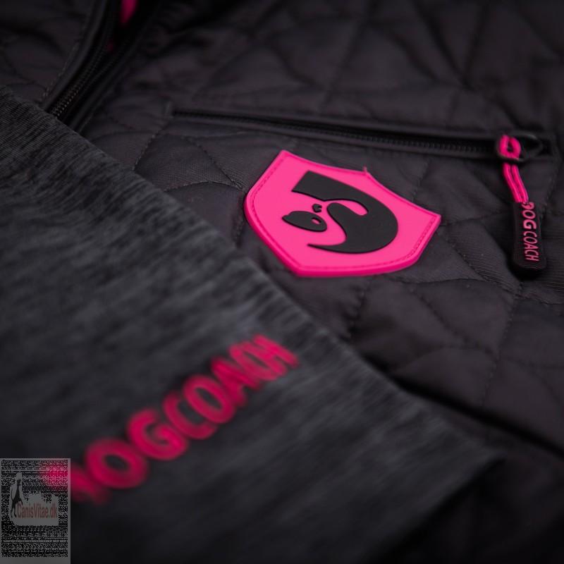 DogCoach Dogwalking Shirt Pro Pink, vælg størrelse-01