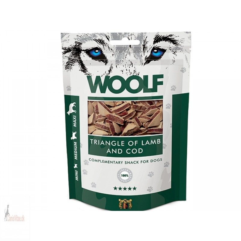 Woolf - Triangle of lamb and cod, 100 GRAM