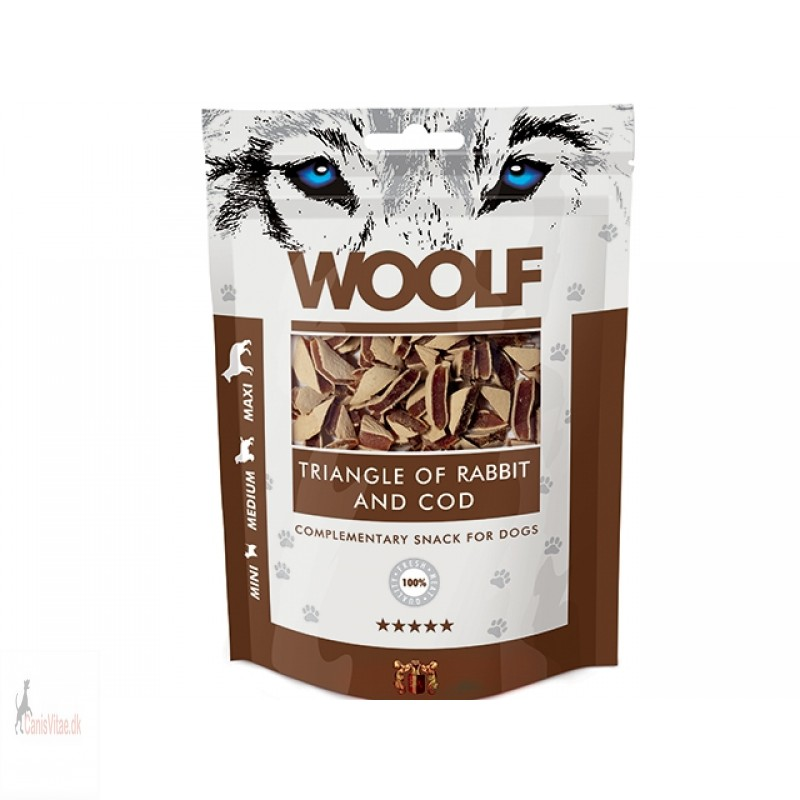 Woolf - Triangle of rabbit and cod, 100 GRAM