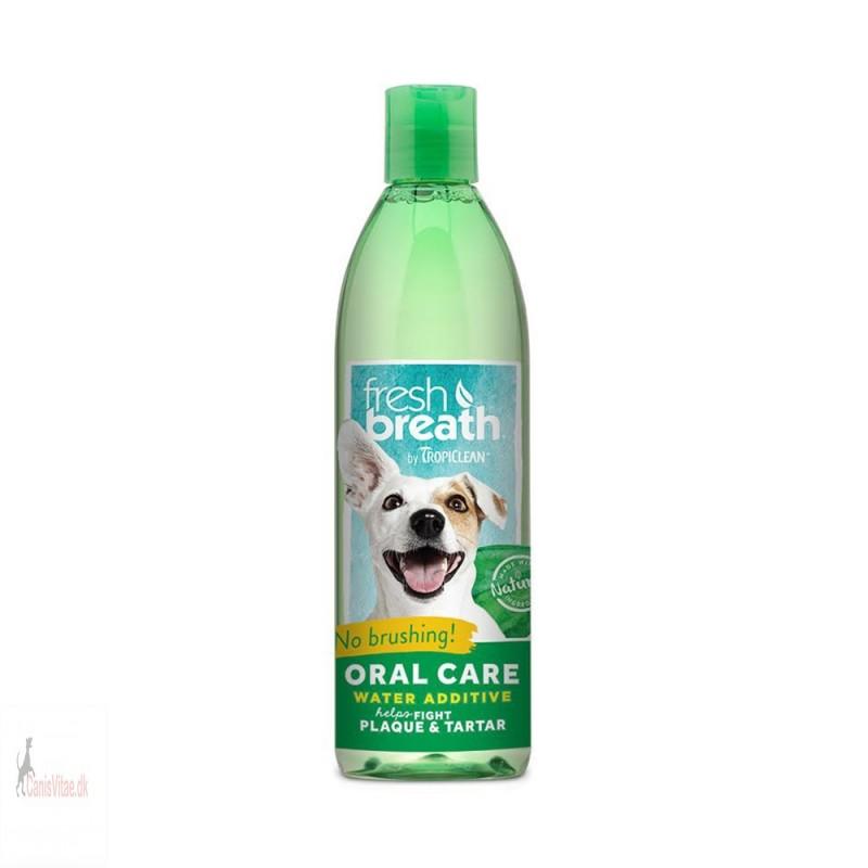 Oral care water additive (mundskyl)