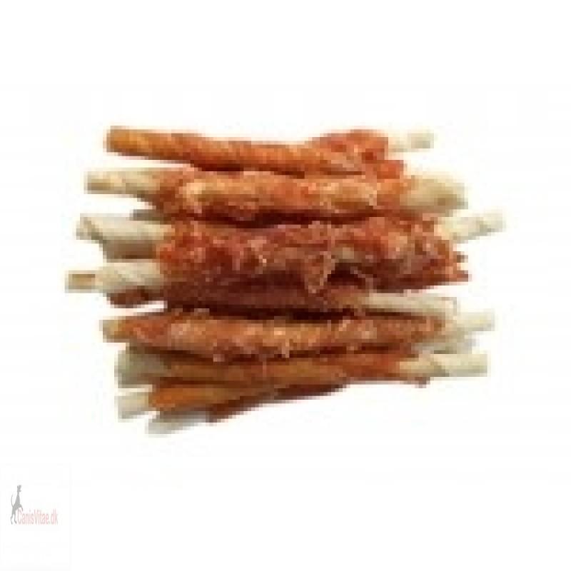 Twisted Chicken - tyggepinde m. kylling, 200 gram